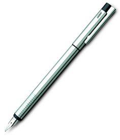 Lamy Logo Shiny Chrome Fountain Pen