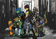 DeviantArt: More Collections Like Teenage Mutant Ninja Turtles by Ninga Turtles, Ninja Turtles Art, Teenage Mutant Ninja Turtles, Tmnt 2012, Turtles Forever, Tmnt Girls, Cartoon Tv Shows, Disney, Drawings