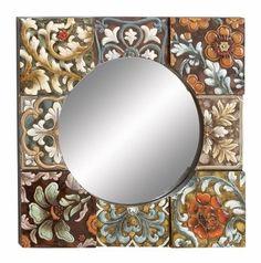 Fleur de Lis Medley Wall Mirror