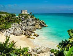 Riviera Maya, Mexico - From may US cities, a quick flight lands you on the powder-soft beaches of this lush stretch outside Cancun. Amenity-packed lodgings provide creature comforts while eco-parks, historic ruins and water sports keep you as busy as you want to be. | The Knot