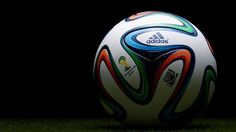 KICK-OFF BALL( official soccer ball by Adidas FIFA Brasil 2014) FIFA World Cup history  in Brasil 2014