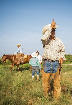 """The land on the Waggoner is beautiful, but it's the Cowboys on the ranch that make it a special place."