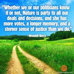 For six decades, writer Wendell Berry has spoken out in defense of local agriculture, rural communities, and the importance of caring for the land. In an interview with Yale Environment 360, he talks about his Kentucky farm, his activism, and why he remains hopeful for the future.