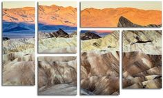 Trademark Fine Art ''Zabriskie Point Sunrise'' 8-pc. Wall Art Set
