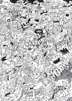 Doodle Monsta Invasion By On DeviantArt