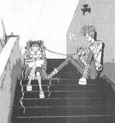 Paradise Kiss miwako and arashi Manga Anime, Manga Art, Anime Art, Futaba Y Kou, Yazawa Ai, Photo Manga, Nana Manga, Paradise Kiss, Kawaii