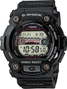 Black g-shock #radio #controlled solar powered #black watch gw-7900-1er rrp £125,  View more on the LINK: http://www.zeppy.io/product/gb/2/281611161944/