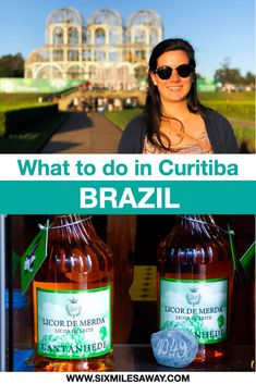 The 6 most famous sights in Curitiba - the European City in Brazil Travel Guides, Travel Tips, South America Destinations, Brazil Travel, Hidden Places, Responsible Travel, About Me Blog, City, Rio De Janeiro