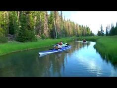 Kayaking spot in Bend, Oregon.  Definitely need to try this out when visiting.