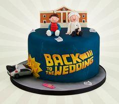 Back To The Future | 19 Spectacularly Nerdy Wedding Cakes