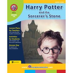 Harry Potter and the Sorcerer's Stone Gr. 4-8. This resource includes pre-made lesson plans. Discussion question ideas, etc. A great way to teach students how to be awesome readers using a book they already love!