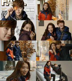 [Photos] Lee Jong-suk and Park Shin-hye's chemistry @ HanCinema :: The Korean Movie and Drama Database