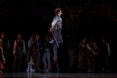 Yury Yanowsky with Boston Ballet in Romeo and Juliet, photo by Rosalie O'Connor.