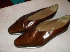 giraudon  leather dress  shoes size 38 or us 7.5 itailian made #giraudon #Oxfords