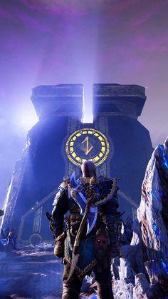 V Games, Video Games, Santa Monica, Kratos God Of War, Dope Wallpapers, Free Iphone Wallpaper, Dark Wallpaper, Norse Mythology, Hd Backgrounds