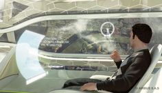 Transparent airplane walls may be in air travel's not-so-distant future