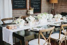 winter wedding tables