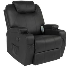Best Choice Products Massage Recliner Sofa Chair Heated W/Control Ergonomic Executive Couch Lounge Bk - Sears Sofa Couch, Lounge Sofa, Recliner Chairs, Swivel Recliner, Sleeper Sofa, Chair Cushions, Couches, Armchair, Leather Reclining Sofa