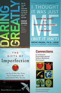 The Gifts of Imperfection — Brené Brown was a gift to full weekend registrants and speakers at the Annual Life Coaching Conference. Brene Brown Books, Brene Brown Quotes, I Love Books, Good Books, Books To Read, The Power Of Vulnerability, The Gift Of Imperfection, Brené Brown, Book Lists