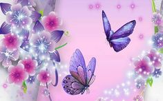 Pink and Purple Butterfly Background - Bing images Fundo Hd Wallpaper, Background Hd Wallpaper, Free Desktop Wallpaper, Wallpapers Android, Wallpaper Backgrounds, Scenery Wallpaper, Purple Backgrounds, Butterfly Fairy, Butterfly Flowers