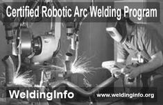 Read all about the procedure for AWS Certified Robotic Arc Welding Program.