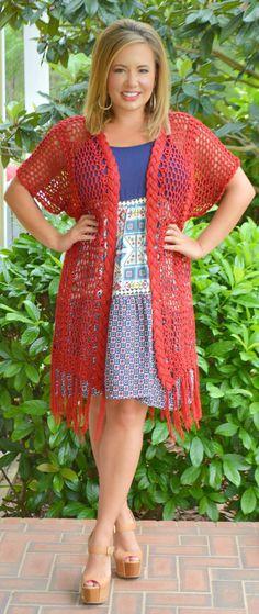 Perfectly Priscilla Boutique - Caught In Your Web Kimono - Wine, $42.00 (http://www.perfectlypriscilla.com/caught-in-your-web-kimono-wine/)