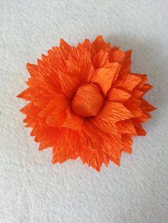 Tutorial make a simple paper flower pinterest crepe paper tutorial make a simple paper flower pinterest crepe paper scissors and flower mightylinksfo