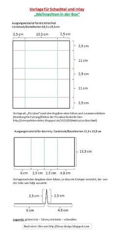 """T.i.e.v.a. - Design: Anleitung und Vorlagen für """"Weihnachten in der Box"""""""