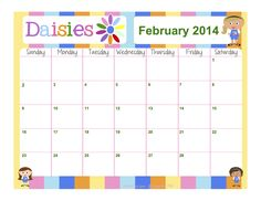 1000 ideas about daisy scouts on pinterest girl scouts for Girl scout calendar template