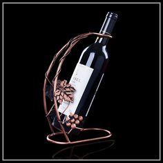 Red wine rack bottle holder GRAPE wine holder stand kitchen bar display decor creative gift
