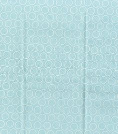 DS Quilts Collection-Meadow Lark Cirlces On Tonal Light Blue & Premium Quilting Fabric at Joann.com