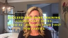 Strong Start Series: #2 Rocking The First Few Parties In Your Direct Sales Business If you are new to direct sales or have recently decided to restart your direct sales business, this Strong Start Series is the place to start! In video number two of the strong start series, Kris Carlson, top direct sales leader, gives you her tips on rocking the first few parties in your direct sales business.  #DirectSales #DirectSalesTraining