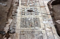 The geometric patterns and ornamentations are quintessentially Roman in design, said Michael Hoff, Hixson-Lied Professor at UNL and the director of the excavation.