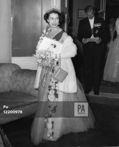 Queen Elizabeth II and the Duke of Edinburgh arriving at the Club House, Hurlingham Club, for the Commonwealth and Empire Coronation Ball given by the Royal Empire Society, Victoria League and Overseas League.