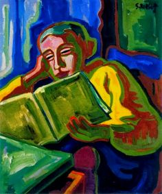 Reading and Art: Karl Schmidt-Rottluff