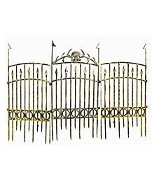 35 Inch Bronze Fence - Decorations