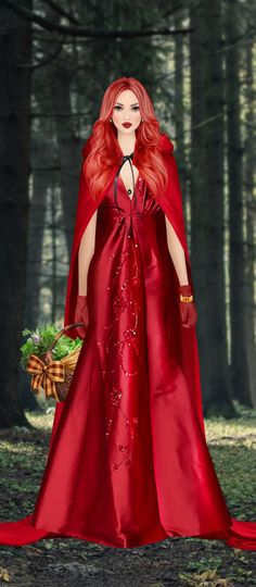 Red Hair Woman, Disney Characters, Fictional Characters, Aurora Sleeping Beauty, Costumes, Female, Disney Princess, Clothing, Outfits