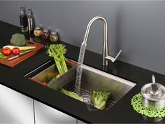 Ruvati Is An American Manufacturer Of Premium Stainless Steel Kitchen Sinks  And Faucets. Stylize Your