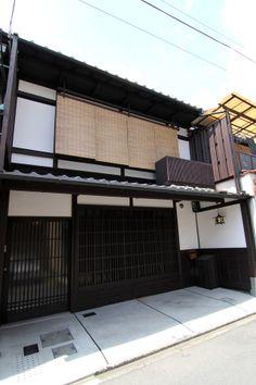 京都の伝統家屋 町家の貸切の宿 紫野しおん庵_外観 kyoyadoya Japan kyoto machiya inn