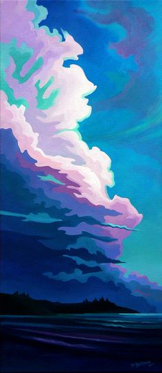 Dianne Bersea ~ Landscape Rythyms  Acrylic Paintings of the Canadian West Coast