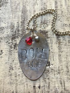 roll tide {necklace}