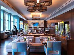 Asana - Forbes Four Star restaurant serving seasonal New England cuisine - Mandarin Oriental, Boston Bar Interior Design, Restaurant Interior Design, Restaurant Interiors, Restaurant Ideas, Architecture Restaurant, Interior Photo, Cafe Design, Most Luxurious Hotels, Luxury Hotels