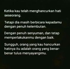 28 Ideas for quotes indonesia cinta kecewa Rude Quotes, Quotes Rindu, Faith Quotes, Words Quotes, Best Quotes, Funny Quotes, Feel Good Quotes, Love Life Quotes, Love Quotes For Her
