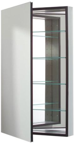 Robern CB-MP24D6FPLL  M-Series Left-Hand Flat Mirror Medicine Cabinet with Defogger and Light