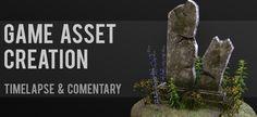 Gravestone Game Asset Creation Workflow