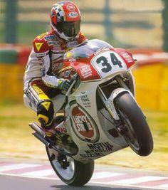 MotoGp/500cc. Kevin Schwantz, Lucky Strike Suzuki....(for many more see board motogp suzuki)