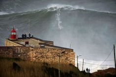 Surf's Way Up: Garrett McNamara Claims to Ride Record Wave in Portugal - LightBox