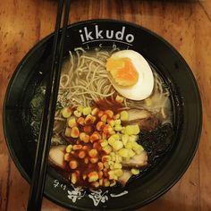 Spicy miso chicken 🍜 #ikkudoichijakarta