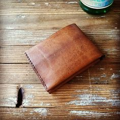Bison Bifold 6 Pocket Wallet Brown Chromexcel by BisonMade on Etsy