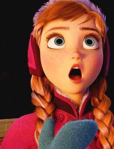 Frozen Anna iMessages Sticker